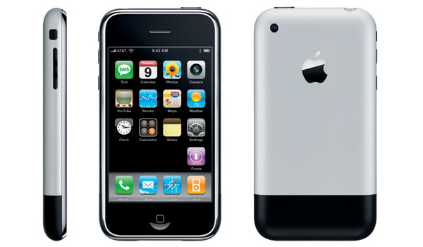 Ёмкость аккумулятора iPhone 2g