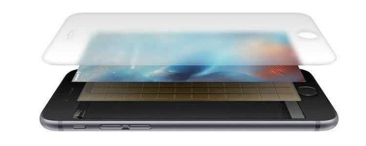iPhone 6s с инновацией 3D Touch