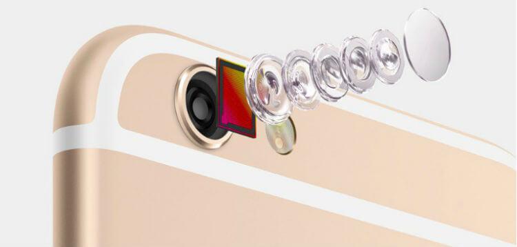 Новая камера в iPhone 6s