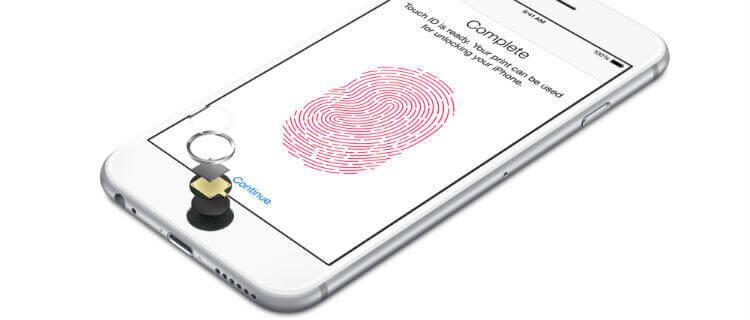 Технология Touch ID в iPhone 6s
