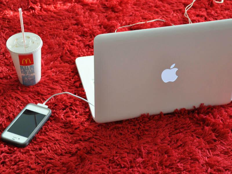 Проверка батареи айфон на макбук