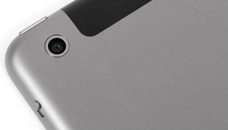 Камера iPad Air