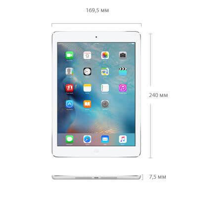 iPad Air габаритные размеры