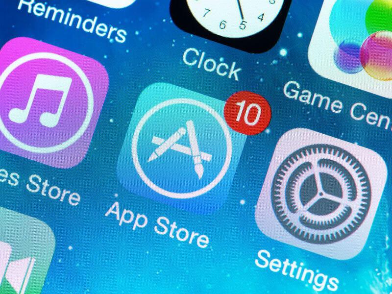 Приложения на айфон