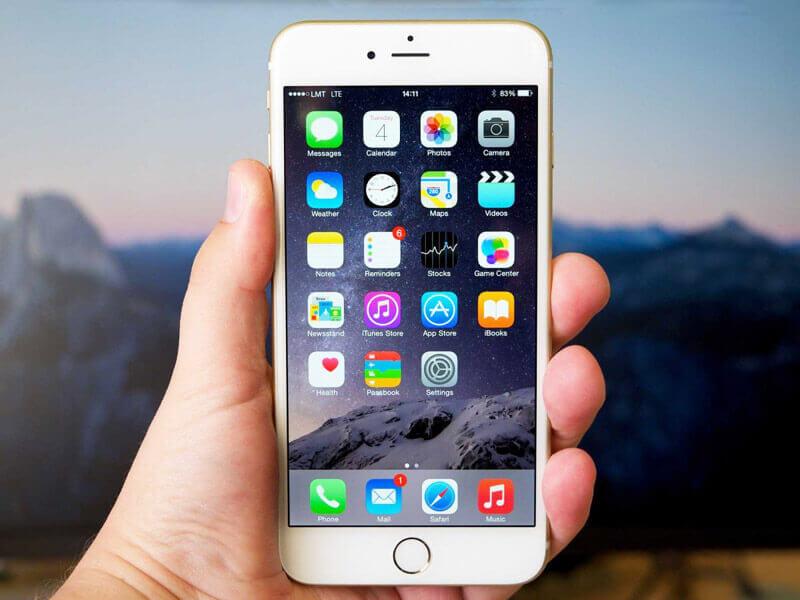 Cкриншот на iPhone