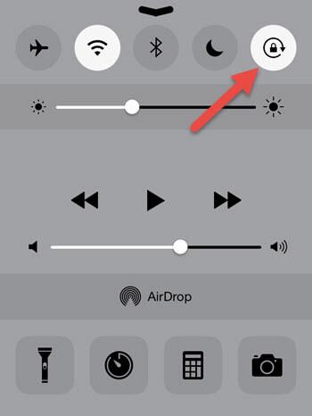 Не поворачивается картинка на айфоне что делать