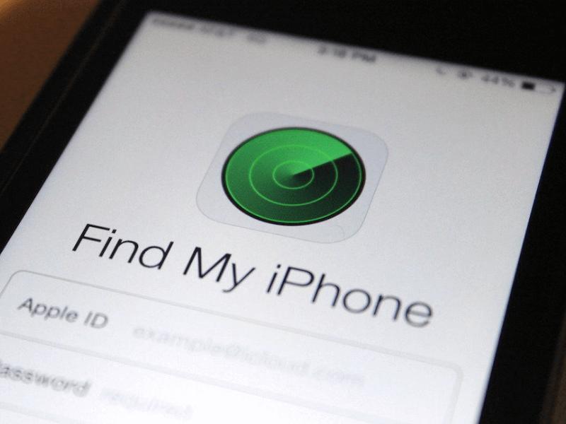 Как найти айфон