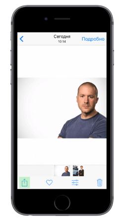 айфон фото контакта на весь экран