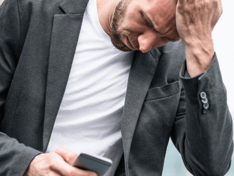 айфон не ловит сеть