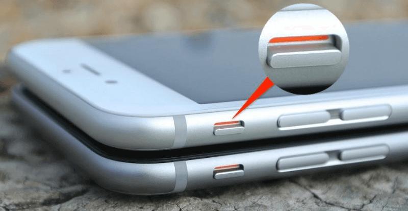отключить звук камеры iphone