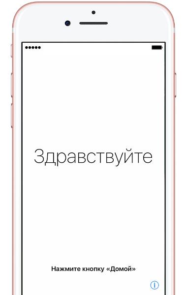 активация iphone без сим карты