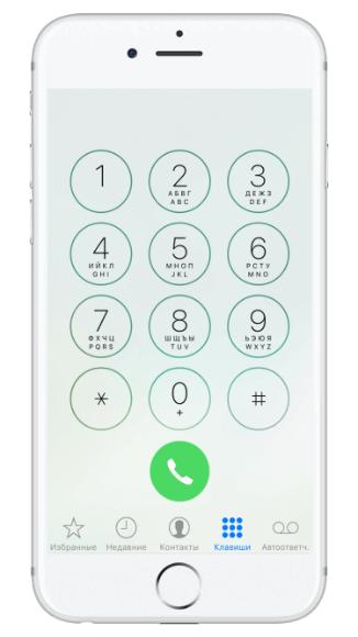 сервисные коды для iPhone