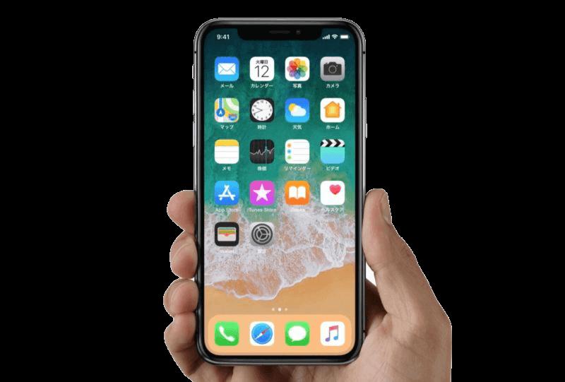 Домашний экран iPhone X