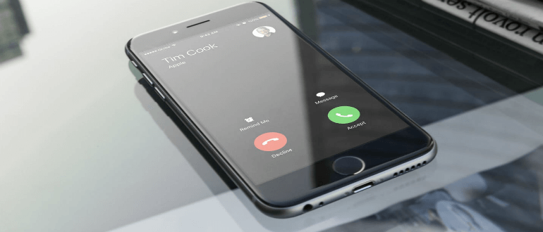 Удержание звонков на iPhone