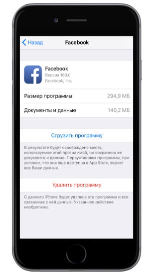 как удалить установленное приложение на айфоне