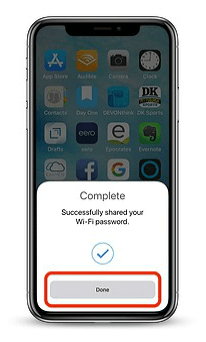 как поделиться паролем wi fi на айфон