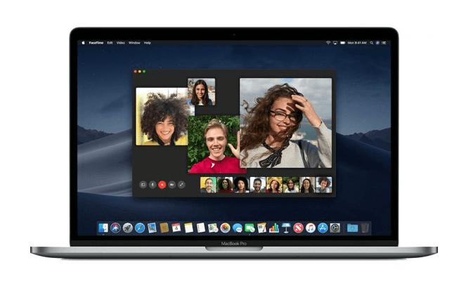 как сделать групповой facetime на mac