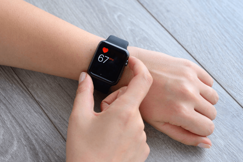 apple watch измерение пульса