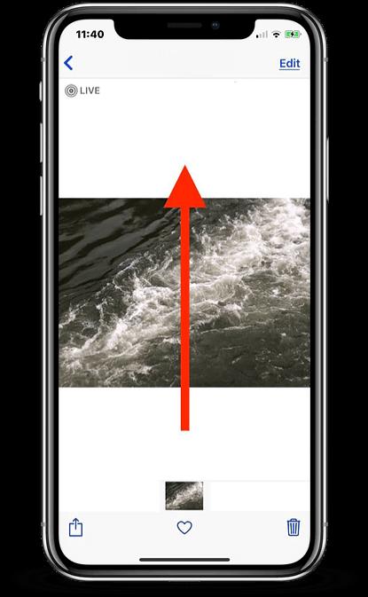 длинная выдержка на iphone x
