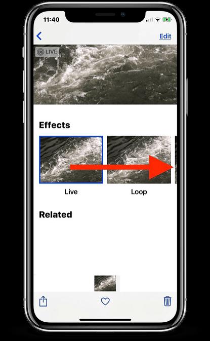 как сделать длинную выдержку на айфоне