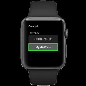 подключение Apple Watch и AirPods